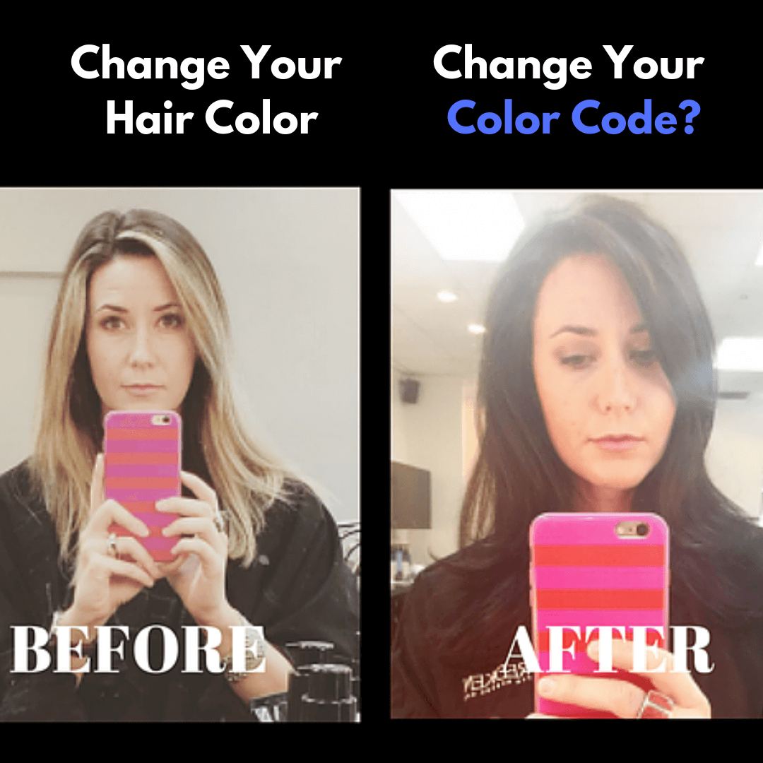 Hair Color and Color Code