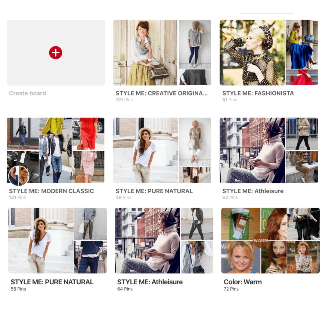 Pinterest Tutorial Boards