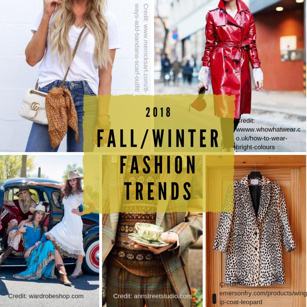 Fall Winter 2018 Trend Report