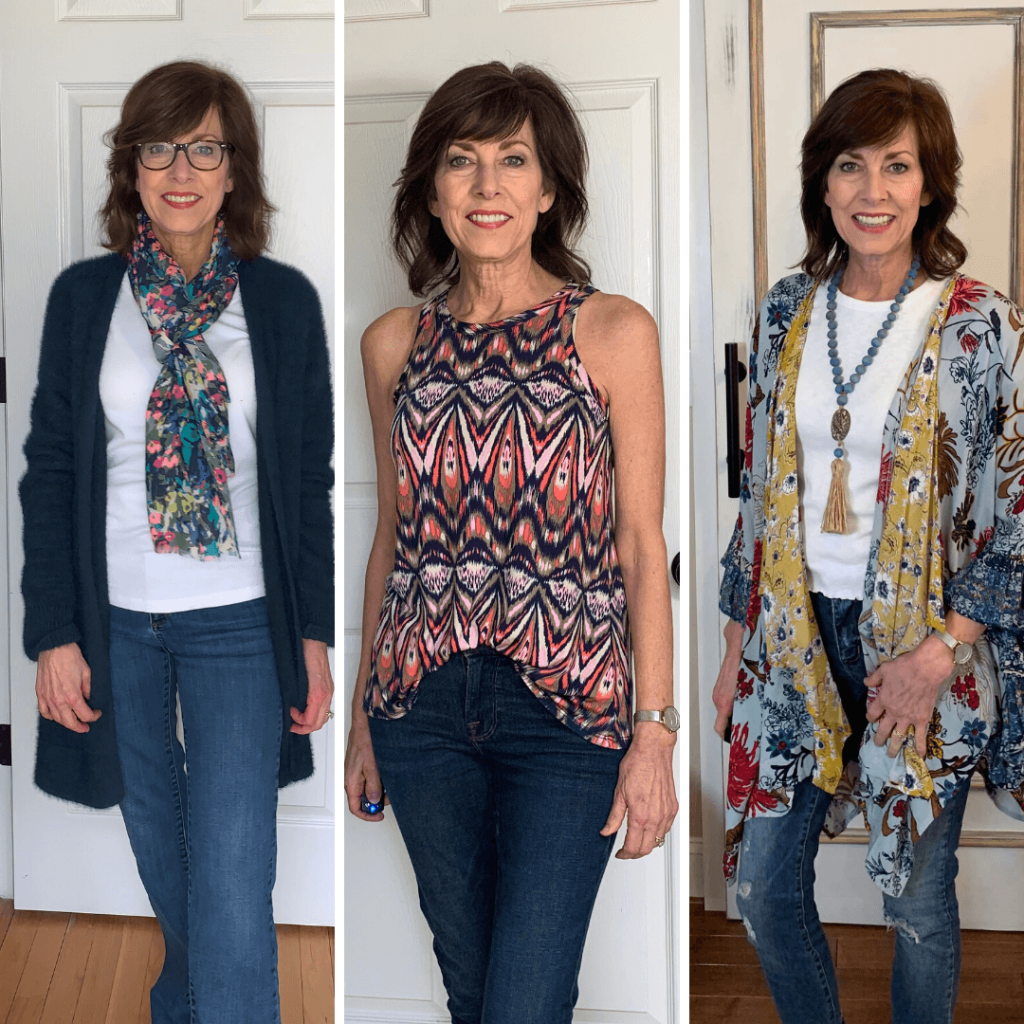 3 print outfits